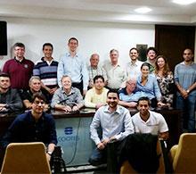 Palestrante de São Paulo participa do Clube do Pé em Vitória
