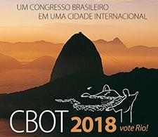 Rio de Janeiro será a Cidade-Sede do CBOT 2018