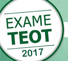 SBOT divulga o local da prova escrita do TEOT