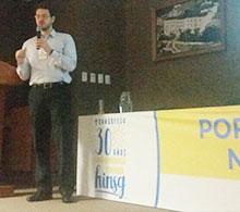 Especialista da COOTES faz palestra no 1º Congresso de Onco-Hematologia Pediátrica