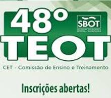 TEOT abre inscrições para a sua 48ª edição