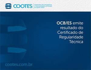 COOTES atinge alta pontuação no Certificado de Regularidade Técnica da OCB/ES