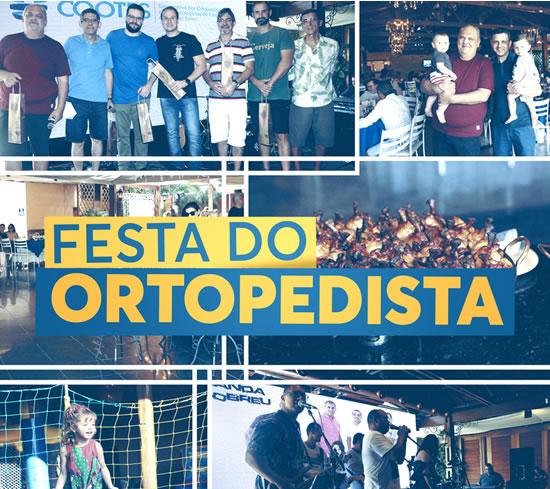 Cooperados e familiares comemoram o Dia do Ortopedista